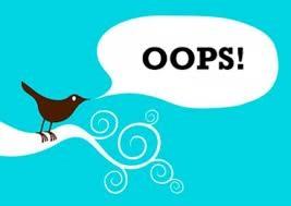 twitter oops