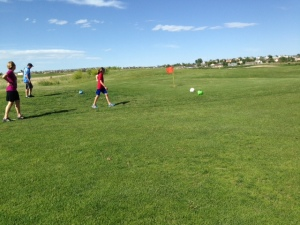 FootGolf - Hole 1
