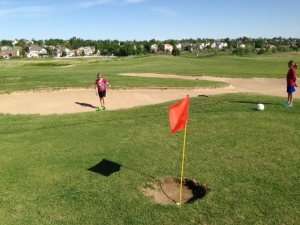 FootGolf - bunker