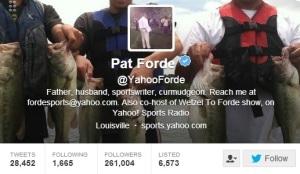 Pat Forde Yahoo