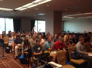 USAS Athlete Meeting