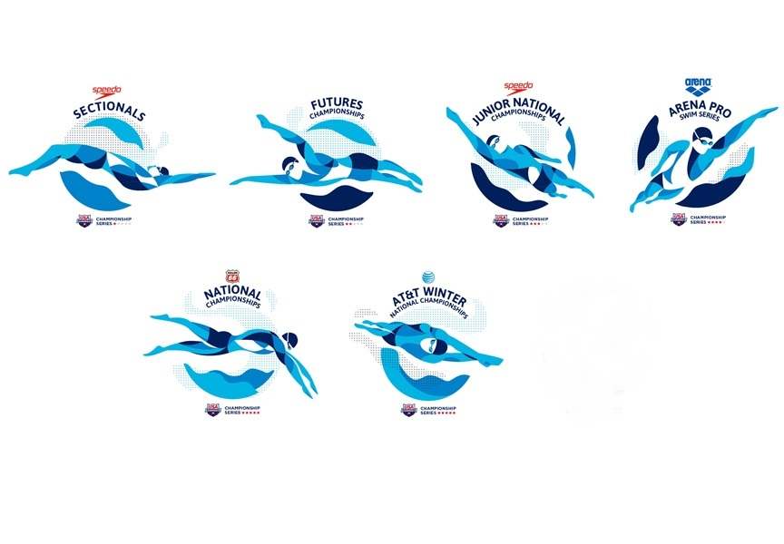 I Love/Hate That Logo: A Look at the USA Swimming Event Logo Process ...