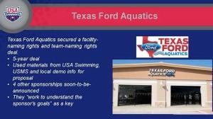 SwimBiz Texas Ford