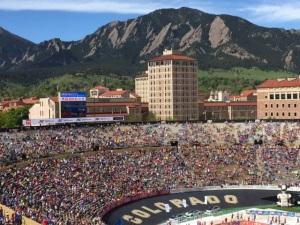 Bolder Boulder View