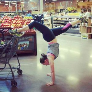 Yoga pants shopping
