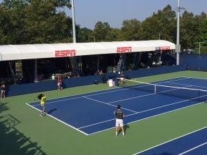 U.S. Open Tennis - Serena Warmup